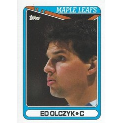 1990-91 Topps c. 206 Ed Olczyk TOR