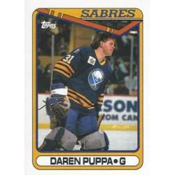 1990-91 Topps c. 238 Daren Puppa BUF