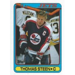 1990-91 Topps c. 283 Thomas Steen WIN