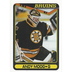 1990-91 Topps c. 294 Andy Moog BOS