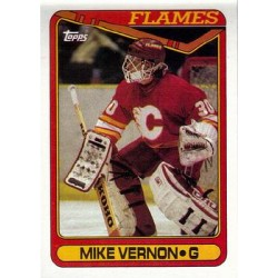 1990-91 Topps c. 351 Mike Vernon CGY