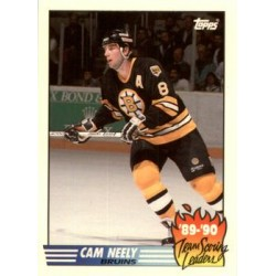 1990-91 Topps Team Scoring Leaders c. 03 Cam Neely BOS