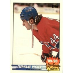 1990-91 Topps Team Scoring Leaders c. 04 Stephane Richer MON