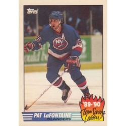 1990-91 Topps Team Scoring Leaders c. 10 Pat Lafontaine