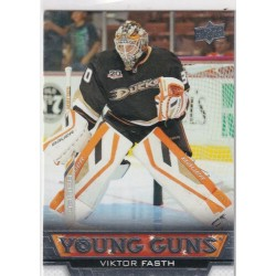 2013-14 Upper Deck Young Guns c. 244 Victor Fasth