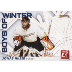 2010-11 Donruss Boys of Winter c. 54 Jonas Hiller