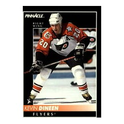 1992-93 Pinnacle c. 014 Kevin Dineen PHI
