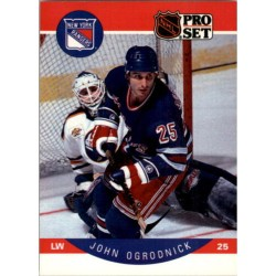 1990-91 Pro Set c. 206 John Ogrodnick