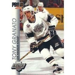 1992-93 Pro Set c. 074 Tony Granato LAK