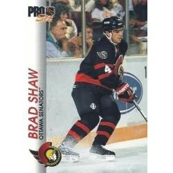1992-93 Pro Set c. 124 Brad Shaw OTT