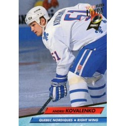 1992-93 Ultra c. 387 Andrei Kovalenko QUE