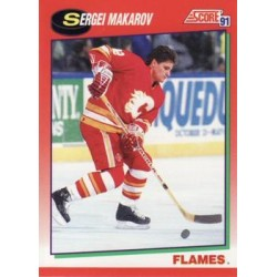1991-92 Score Canadian English c. 051 Sergei Makarov CGY
