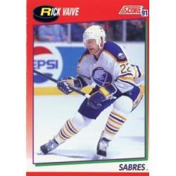 1991-92 Score Canadian English c. 026 Rick Vaive BUF