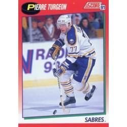 1991-92 Score Canadian English c. 004 Pierre Turgeon BUF