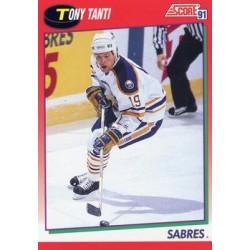 1991-92 Score Canadian English c. 049 Tony Tanti BUF