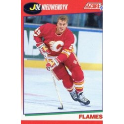 1991-92 Score Canadian English c. 170 Joe Nieuwendyk CGY