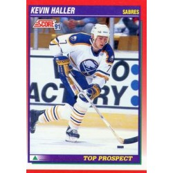 1991-92 Score Canadian English c. 276 Kevin Haller TP BUF