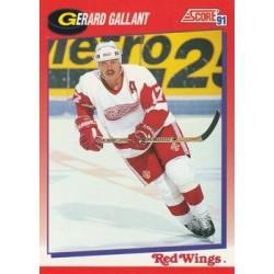 1991-92 Score Canadian Bilingual c. 034 Gerard Gallant DET