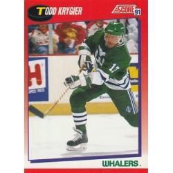 1991-92 Score Canadian Bilingual c. 097 Todd Krygier HFD