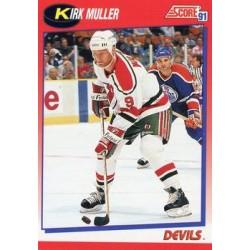 1991-92 Score Canadian Bilingual c. 110 Kirk Muller NJD