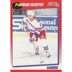 1991-92 Score Canadian Bilingual c. 171 Normand Rochefort