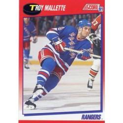 1991-92 Score Canadian Bilingual c. 178 Troy Mallette