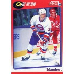 1991-92 Score Canadian Bilingual c. 192 Gary Nylund