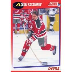 1991-92 Score Canadian Bilingual c. 194 Alexei Kasatonov NJD