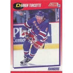 1991-92 Score Canadian Bilingual c. 196 Darren Turcotte