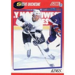 1991-92 Score Canadian Bilingual c. 205 Steve Duchesne LAK