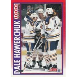 1991-92 Score Canadian Bilingual c. 266 Dale Hawerchuk 1000PC BUF