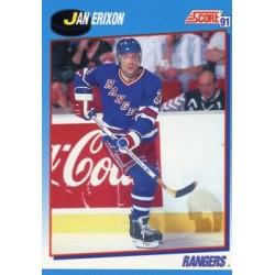 1991-92 Score Canadian Bilingual c. 484 Jan Erixon