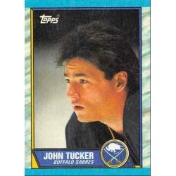 1989-90 Topps c. 037 John Tucker BUF