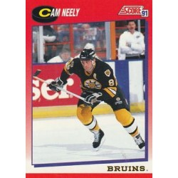 1991-92 Score Canadian English c. 006 Cam Neely BOS