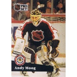 1991-92 Pro Set French c. 299 Andy Moog BOS