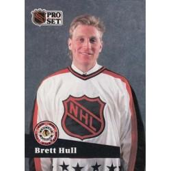 1991-92 Pro Set French c. 290 Brett Hull STL