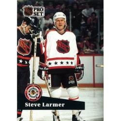 1991-92 Pro Set French c. 279 Steve Larmer CHI