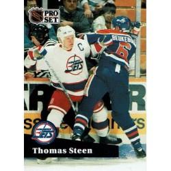1991-92 Pro Set French c. 271 Thomas Steen WIN