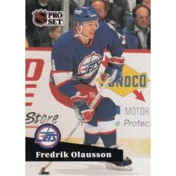 1991-92 Pro Set French c. 264 Fredrik Olausson WIN