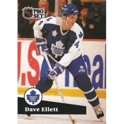 1991-92 Pro Set French c. 230 Dave Ellett TOR