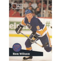 1991-92 Pro Set French c. 220 Ron Wilson STL