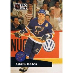 1991-92 Pro Set French c. 219 Adam Oates STL
