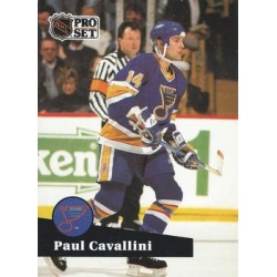1991-92 Pro Set French c. 214 Paul Cavallini STL