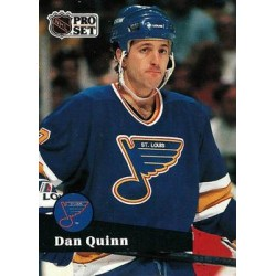 1991-92 Pro Set French c. 209 Dan Quinn STL