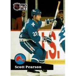 1991-92 Pro Set French c. 208 Scott Pearson QUE