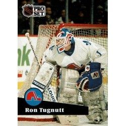 1991-92 Pro Set French c. 202 Ron Tugnutt QUE