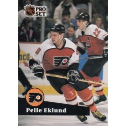 1991-92 Pro Set French c. 179 Pelle Eklund PHI