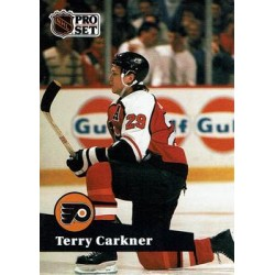 1991-92 Pro Set French c. 173 Terry Carkner PHI