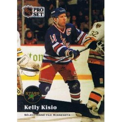 1991-92 Pro Set French c. 168 Kelly Kisio MNS