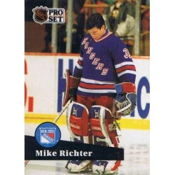1991-92 Pro Set French c. 161 Mike Richter